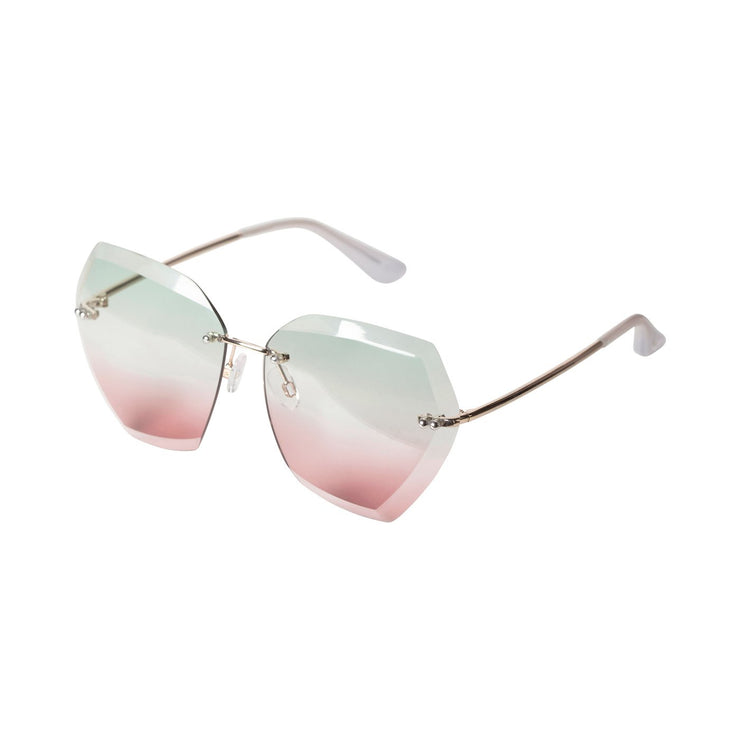 Pilgrim - Sunglasses Chandler Pink with Gold