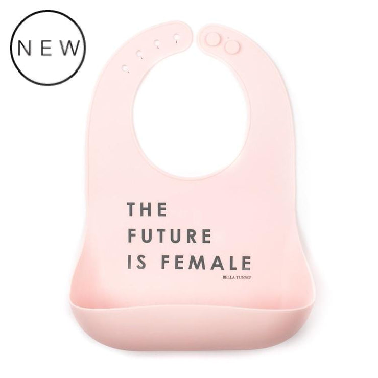 Bella Tunno Wonder Bib The Future Is Female