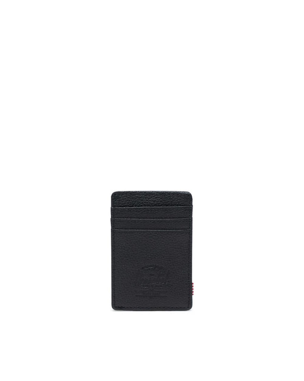 Herschel Supply - Raven Leather Wallet Black Pebble
