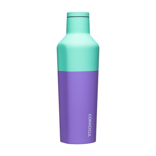Corkcicle - Color Block Canteen 16oz Mint Berry