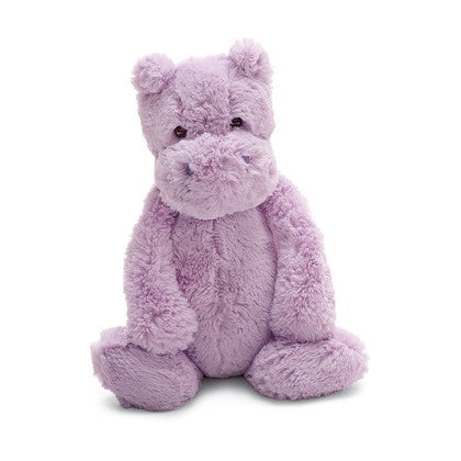 JellyCat Bashful Lilac Hippo Medium 12""