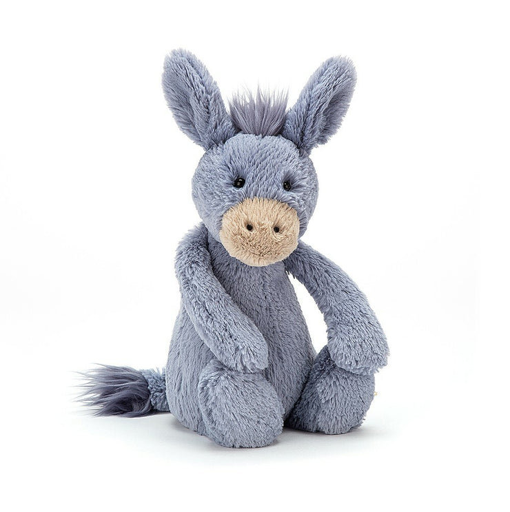 JellyCat Bashful Donkey - Medium 12""