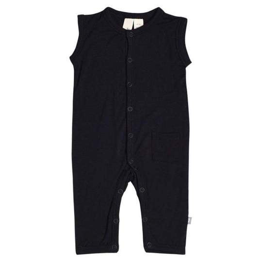 Kyte Baby - Sleeveless Romper in Midnight