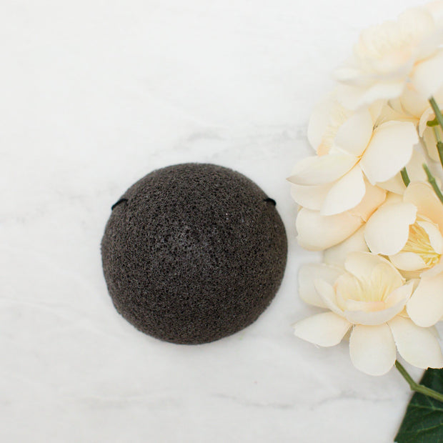 So Luxury - Bamboo Charcoal Cleansing Sponge