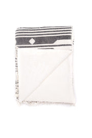 Tofino Towel - The Arrow Throw  Grey
