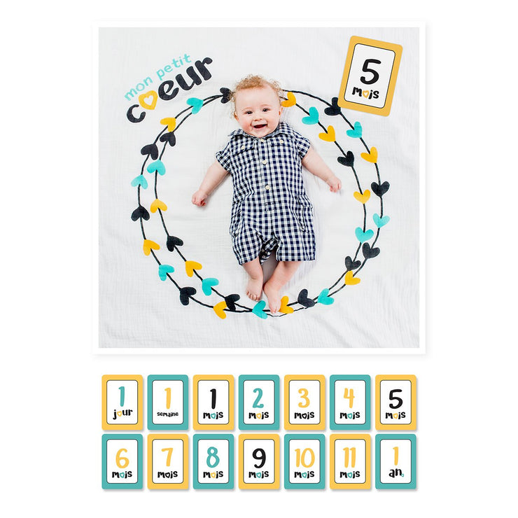 Kid Central - Lulujo Baby's 1st Year- Mon Petit Coeur