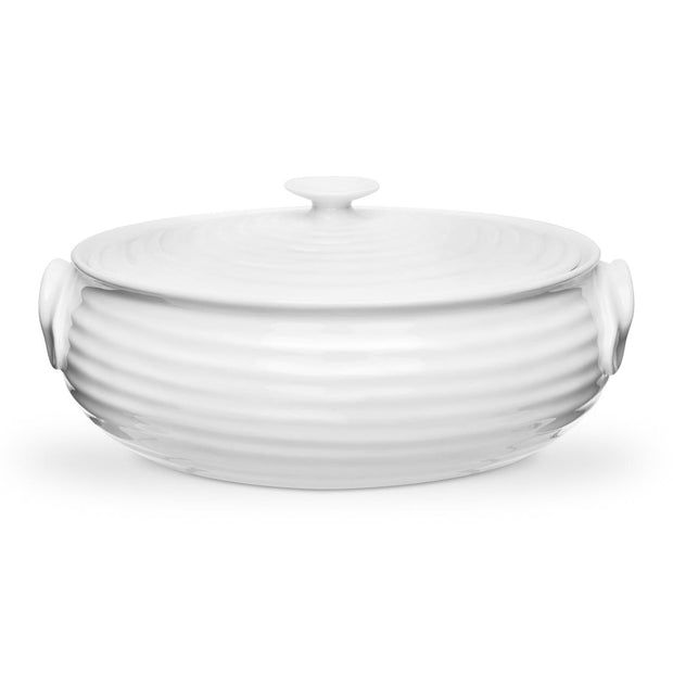 Sophie Conran for Portmeirion Small Oval Casserole Dish White