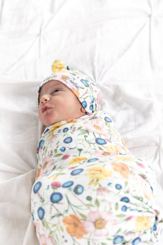 Copper Pearl - Swaddle Blanket Isabella