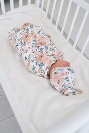 Copper Pearl - Swaddle Blanket Autumn Floral