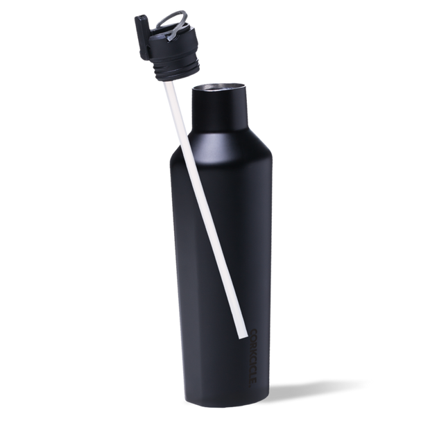 Corkcicle - Canteen Cap with Straw for 9oz, 12oz and 25oz