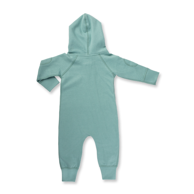 Sapling Child - Winter Zipsuit Dusk Green