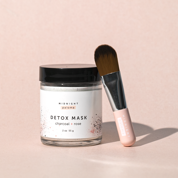 Midnight Paloma - Detox Mask Charcoal + Rose