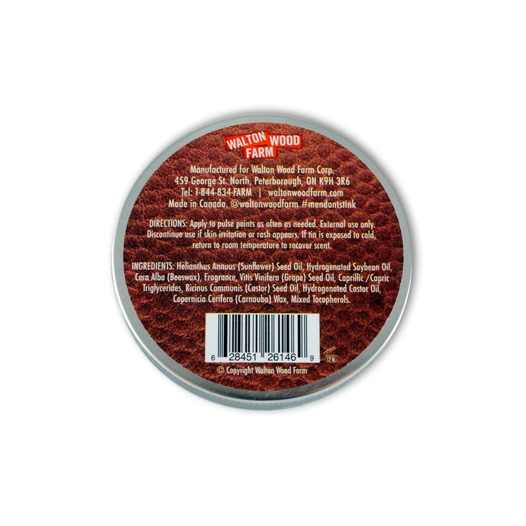 Walton Wood Farm - Solid Cologne 2.5oz The Canadian