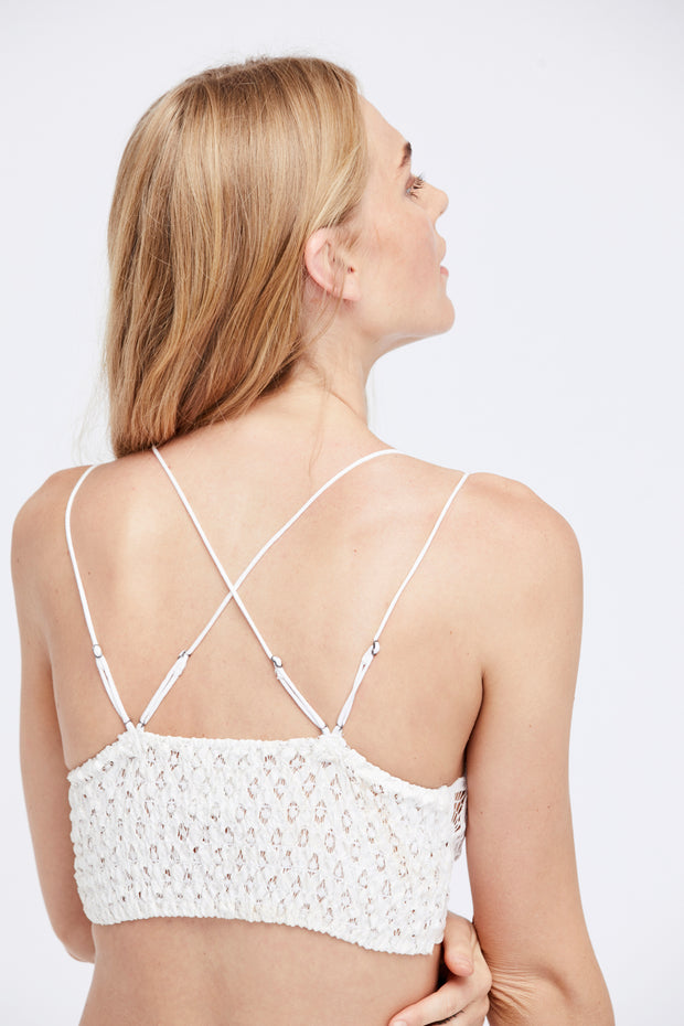 Free People One Bralette Adella White