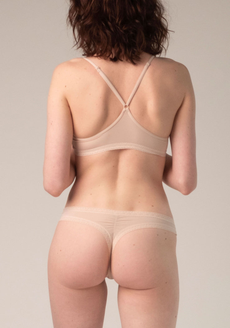 Blush Thong Nude