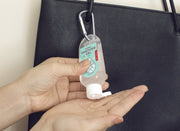 Kikkerland - Hand Sanitizer with Carabiner Mint