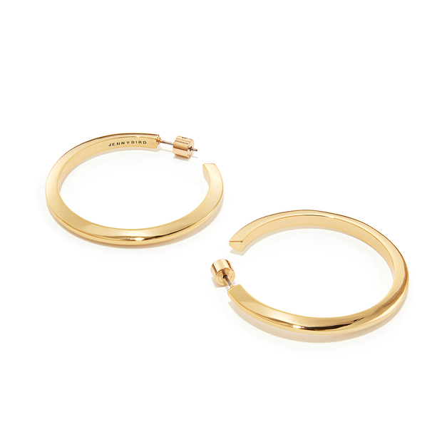 JENNY BIRD - Toni Hoop Earrings Large in Gold