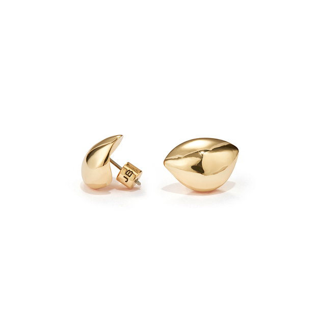 JENNY BIRD - Dore Lobe Hugger Earrings in Gold