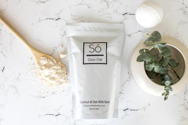 So Luxury Coconut and Oat Milk Bath 300g