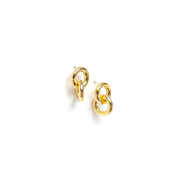 Lover's Tempo - Links Earrings Gold