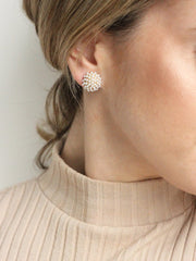Olive and Piper - Pearl Pave Studs