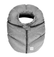 7Am Car Seat Cocoon - Heather Grey