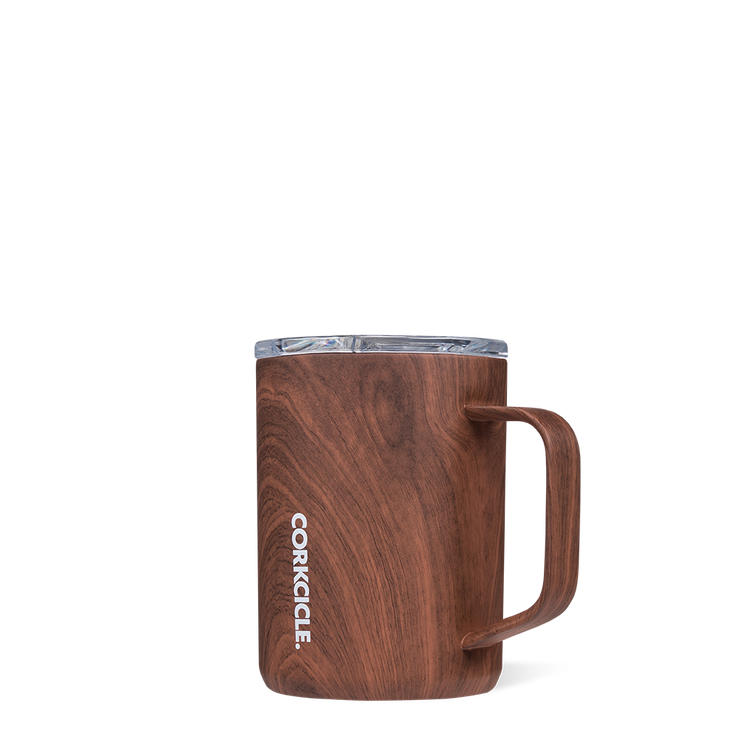 Corkcicle - Coffee Mug 16oz Walnut Wood