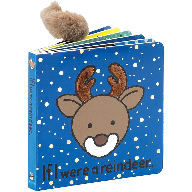 JellyCat Book If I Were A Reindeer
