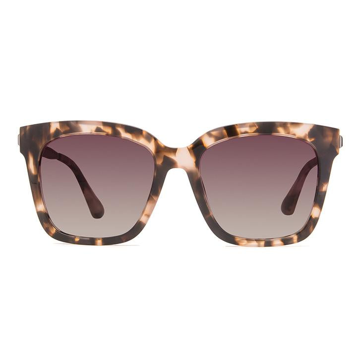 DIFF - Bella HM-TF10P Himalayan Tortoise Rose Gradient Polarized Lens