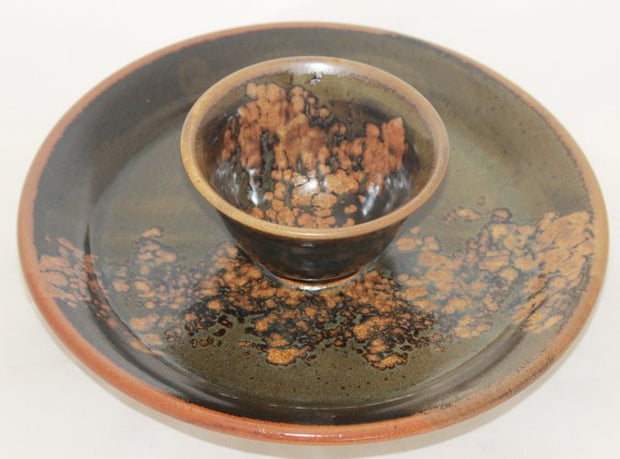 Crimmins Pottery - Vegetable Platter Forest Collection