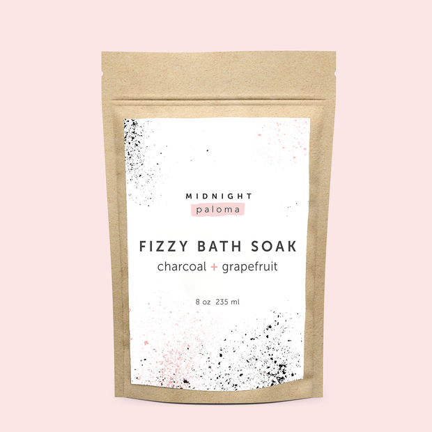 Midnight Paloma - Fizzy Bath Soak Detox