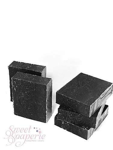 The Sweet Soaperie Dead Sea Clay & Charcoal Facial Soap