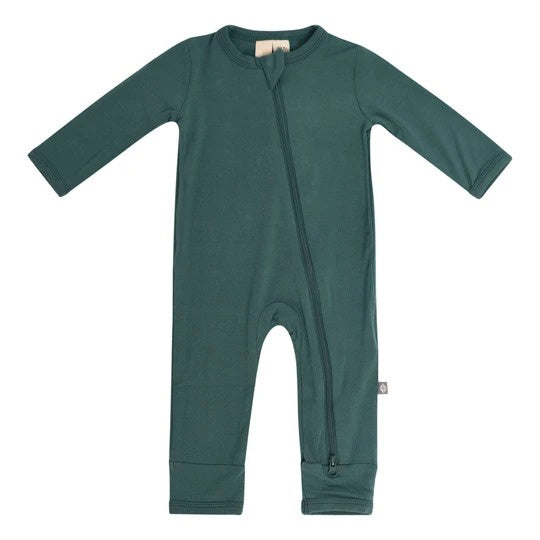 Kyte Baby - Zippered Romper Emerald