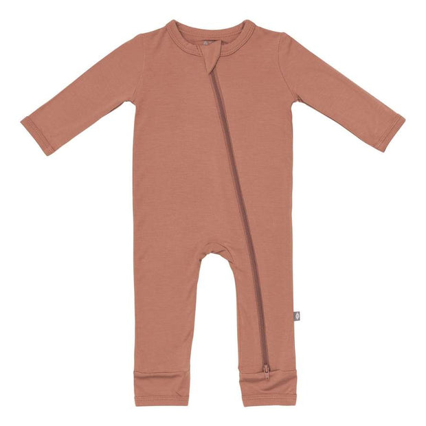 Kyte Baby - Zippered Romper Spice