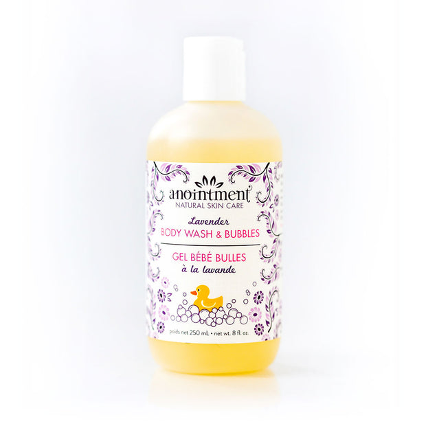 Anointment - Lavender Bubble and Body Wash 250ml