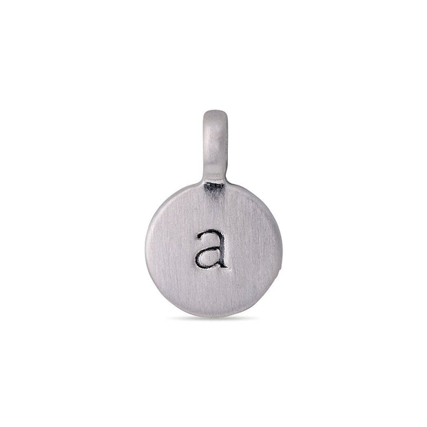 Pilgrim - Pendant Letter a Silver Plated