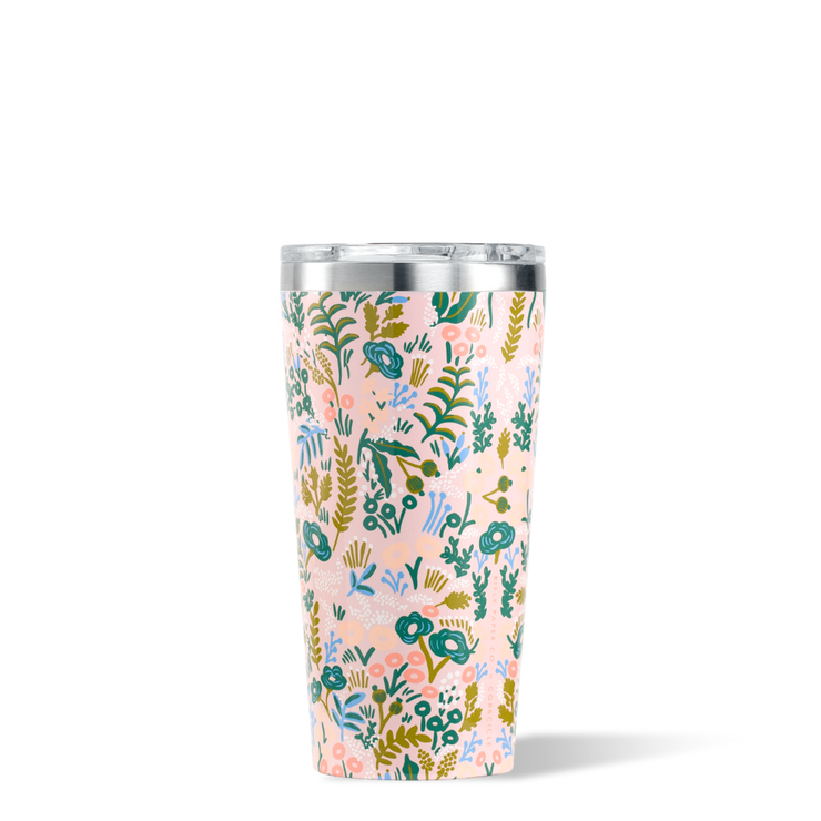 Corkcicle - Tumbler 16oz Rifle Paper Co. Pink Tapestry