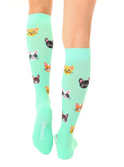 Living Royal - Compression Knee High Socks Cat