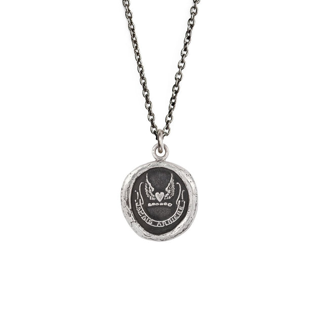 "Pyrrha - Talisman Never Look Back 18"" Sterling Silver"