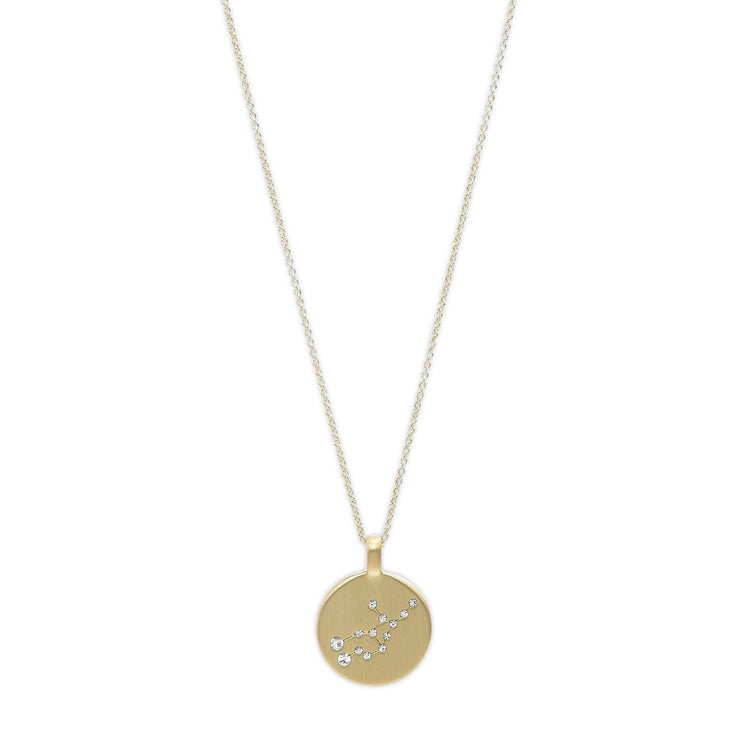 Pilgrim - Necklace Zodiac Gold Plated Virgo