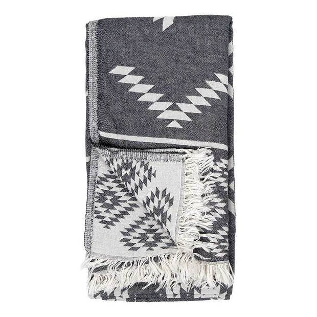 Pokoloko - Body Towel - Geometric Black