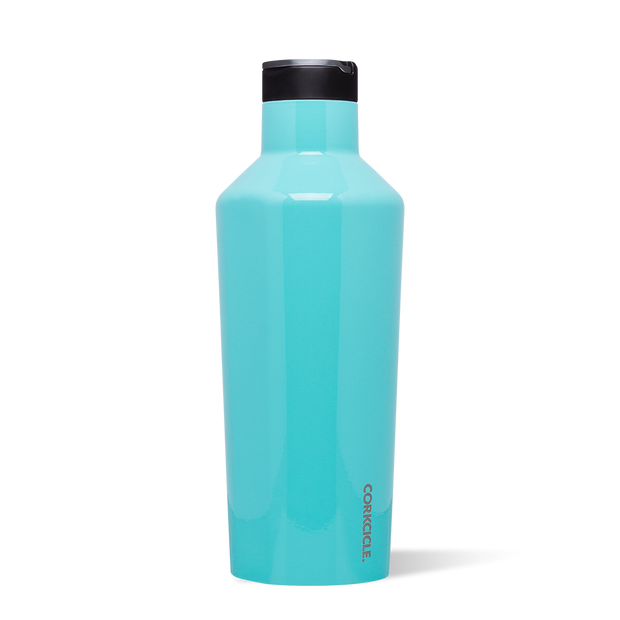 Corkcicle - Sports Canteen 40oz Gloss Turqoise