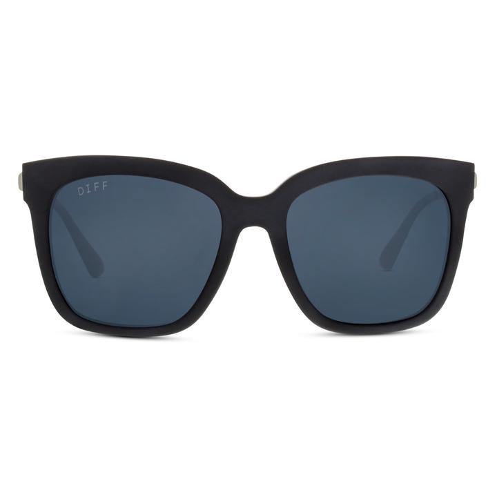 DIFF - Bella MB-GR10P Matte Black Grey Lens Polarized