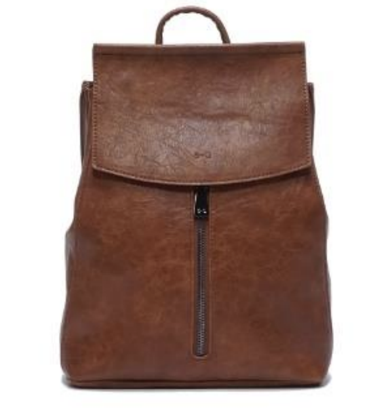 S-Q Chloe Convertible Backpack Camel