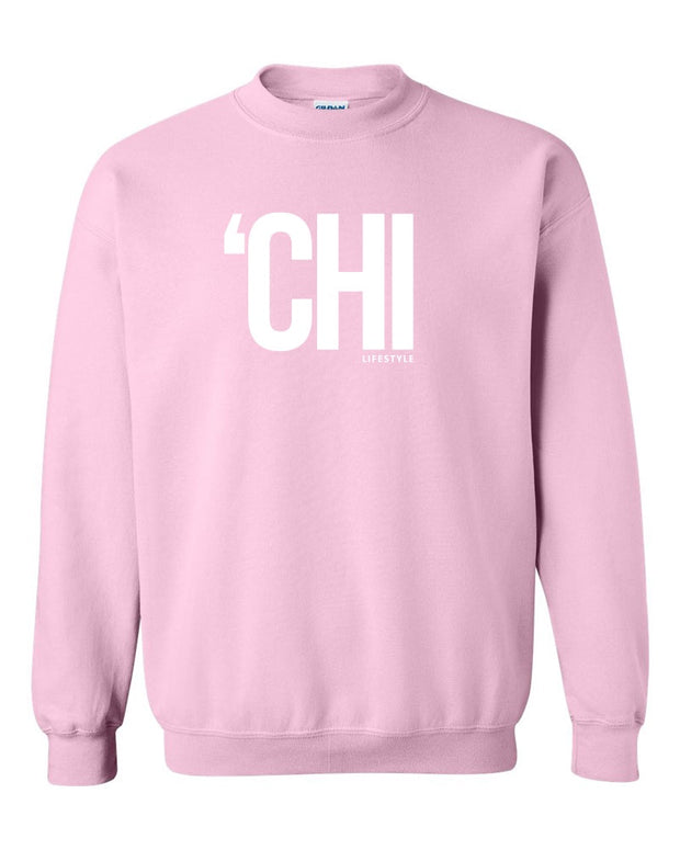 Chi Lifestyle Crewneck Light Pink