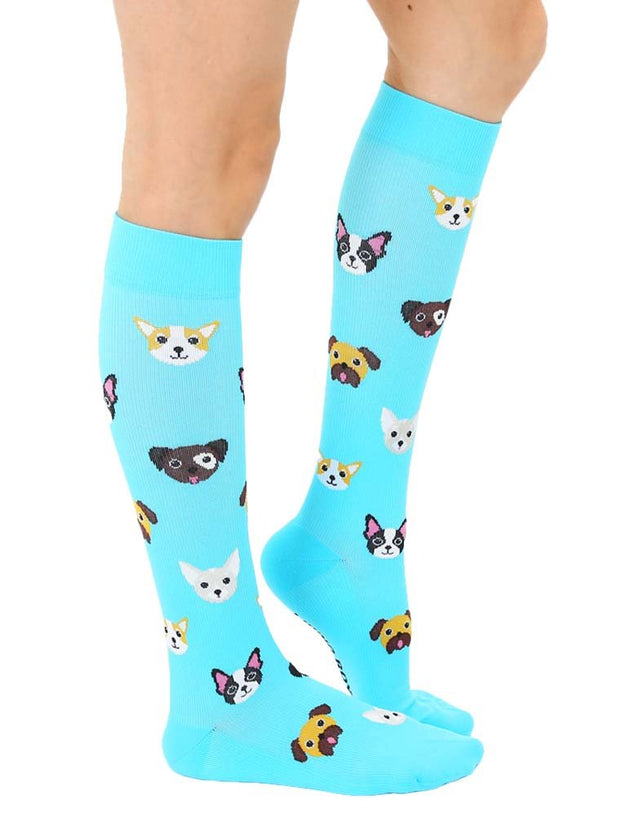 Living Royal - Compression Knee High Socks Dog