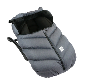 7Am Car Seat Cocoon- Dark Heather Grey