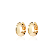 JENNY BIRD - Wide Winged Hoops Earrings in Gold