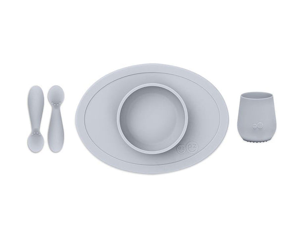 EZPZ First Food Set Pewter