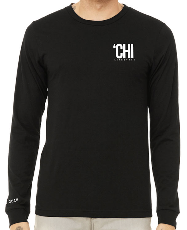 'CHI Lifestyle Long Sleeve T-Shirt Black